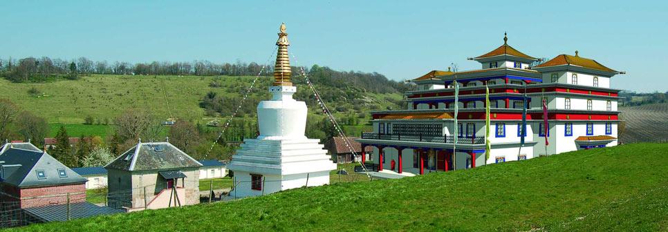 temple pour le paix