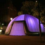 10m dome violet_hopenart